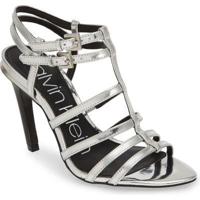 Calvin Klein Gili Sandal, Metallic