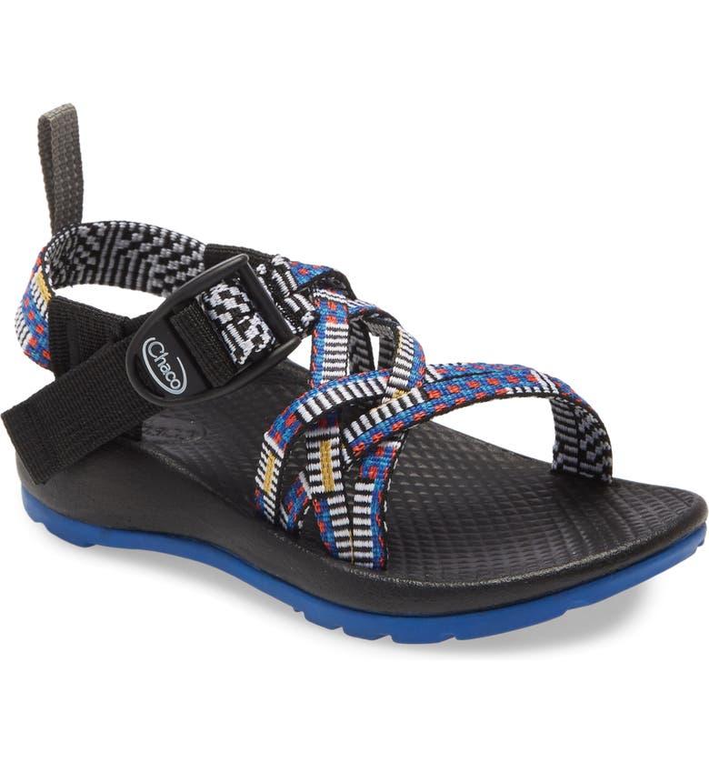 CHACO ZX/1 Ecotread Sport Sandal, Main, color, MANTEL CERULEAN