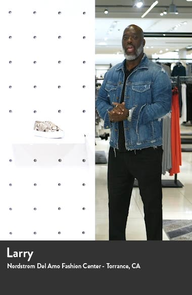 2730 Snake Embossed Platform Sneaker, sales video thumbnail