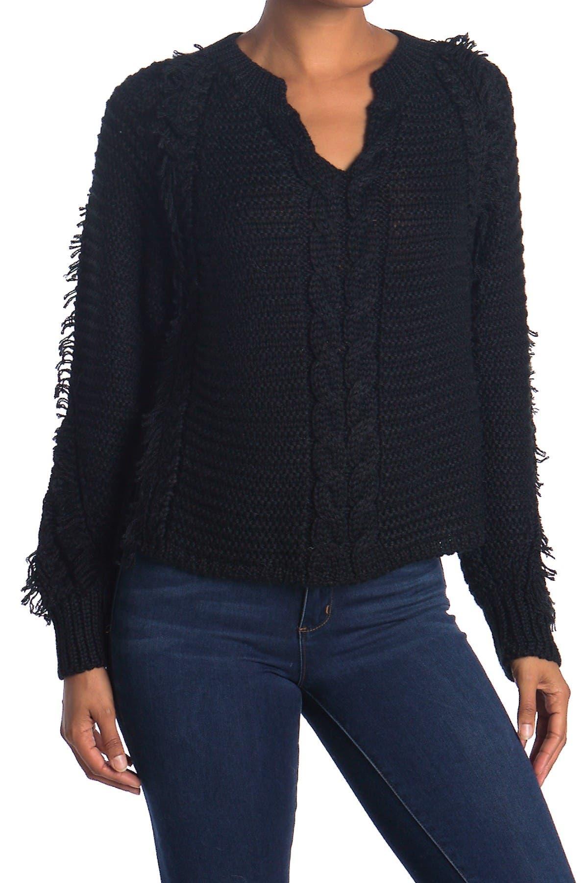 Image of Line Petra Split Neck Sweater