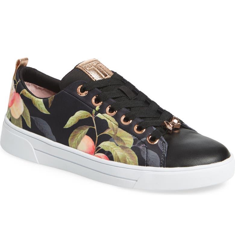 TED BAKER LONDON Ahfira Sneaker, Main, color, 001