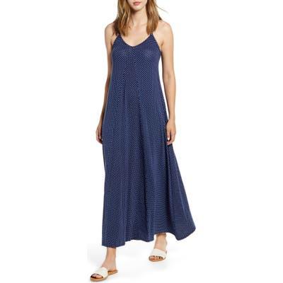 Loveappella Maxi Slipdress, Blue