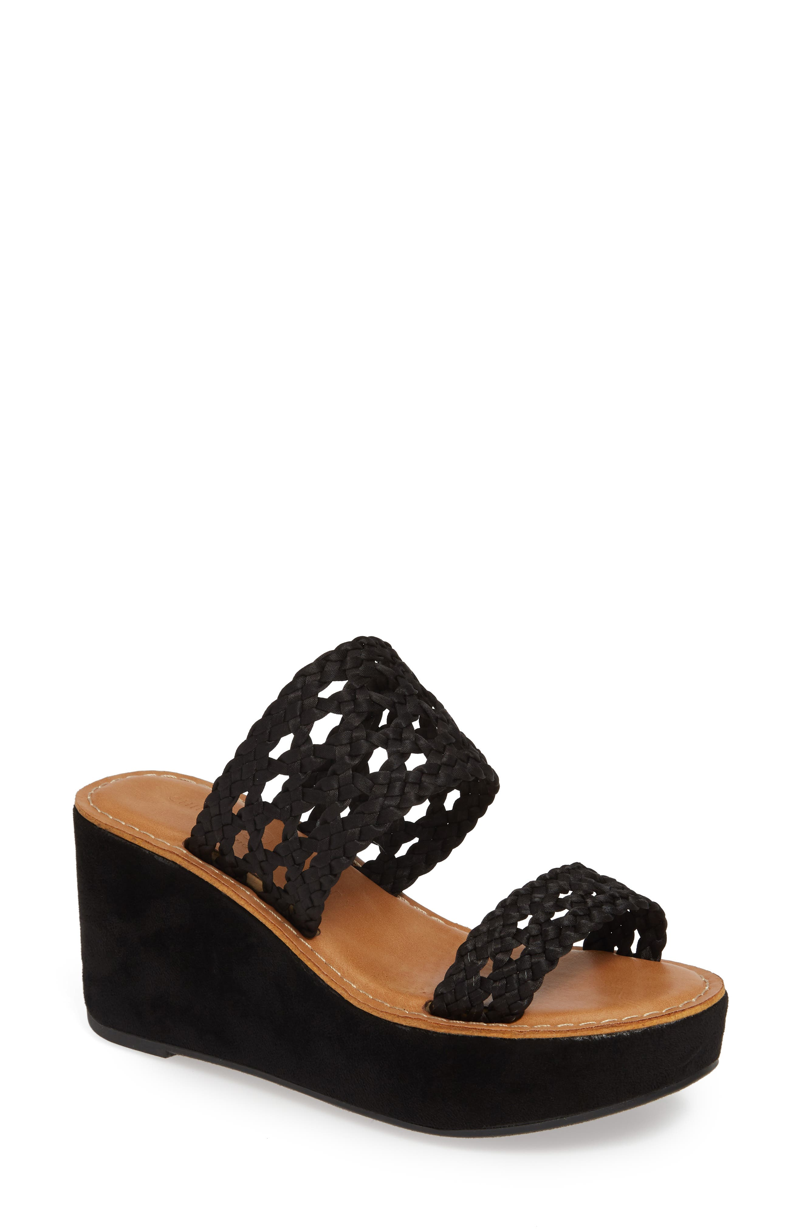 Chinese Laundry Orie Wedge Mule- Black