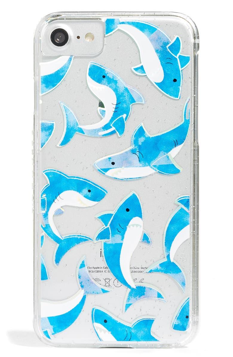 buy popular 91dd9 86730 Shark iPhone 6/7 & 6/7 Plus Case