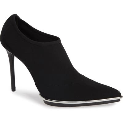 Alexander Wang Cara Halo Stretch Bootie - Black