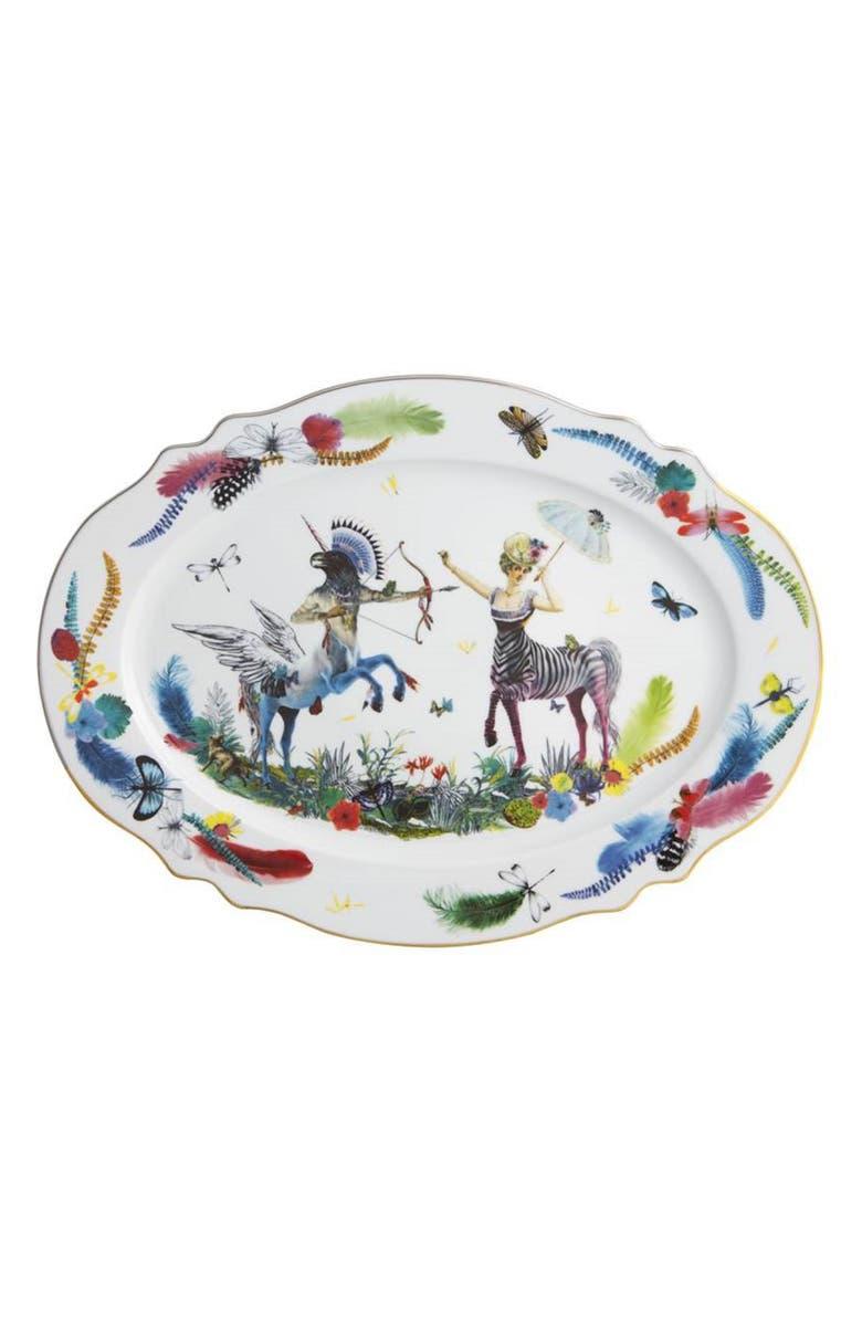 CHRISTIAN LACROIX Caribe Large Oval Platter, Main, color, 100