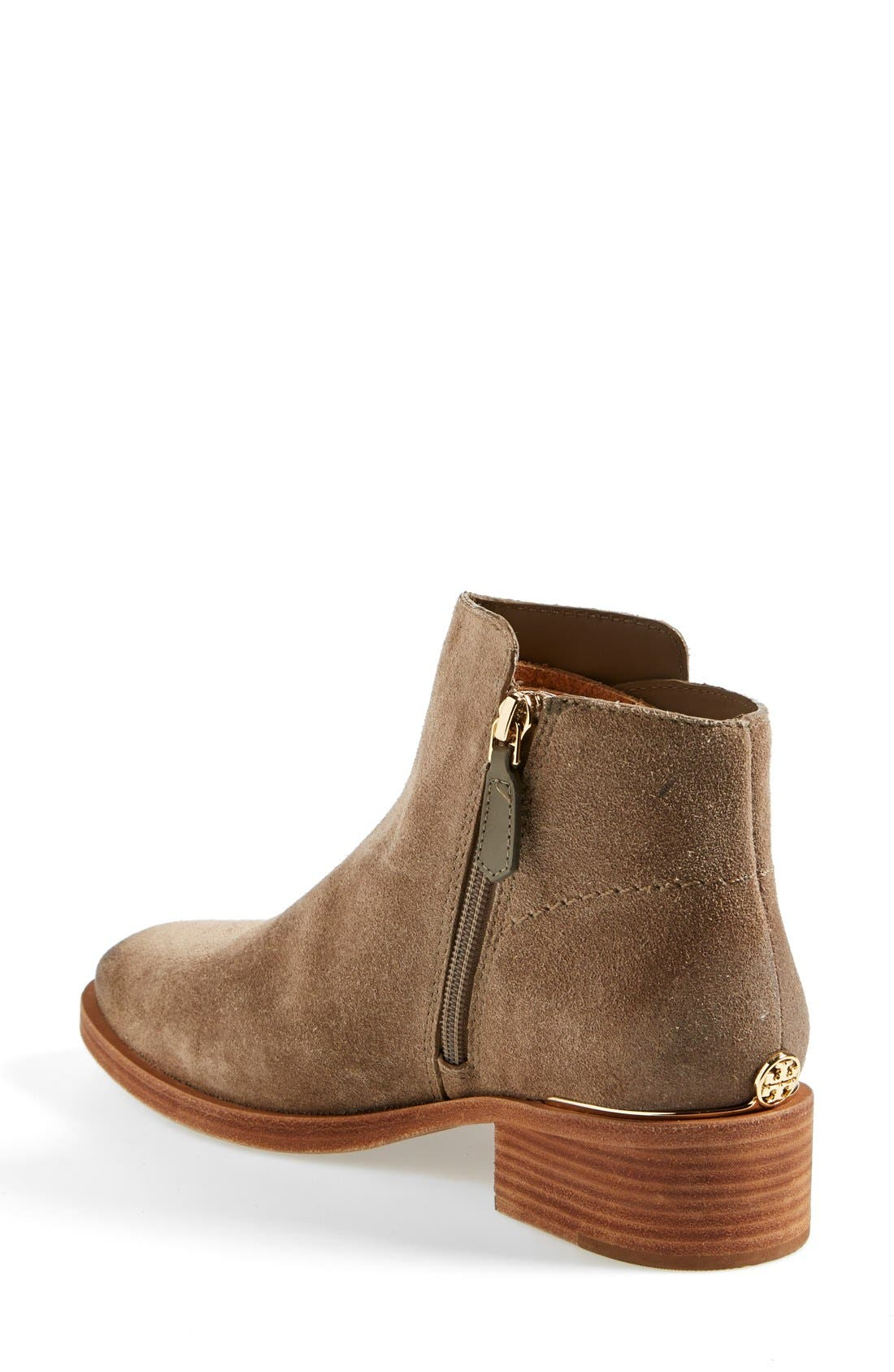 ,                             'Riley' Suede Ankle Boot,                             Alternate thumbnail 3, color,                             217