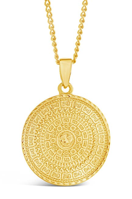 Image of Sterling Forever Medallion Pendant Necklace