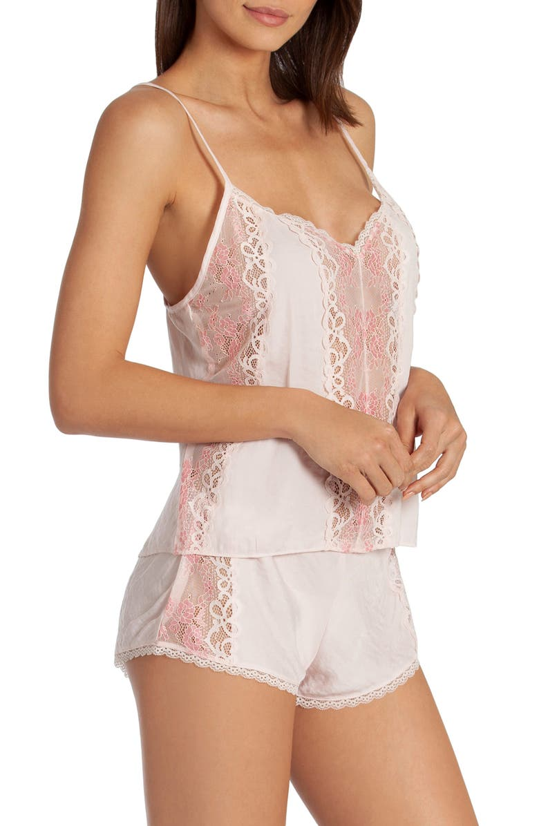 IN BLOOM BY JONQUIL Just Like Heaven Short Pajamas, Main, color, PINK