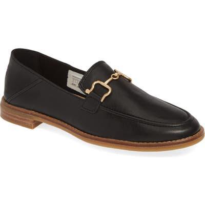 Sperry Seaport Buckle Loafer, Black