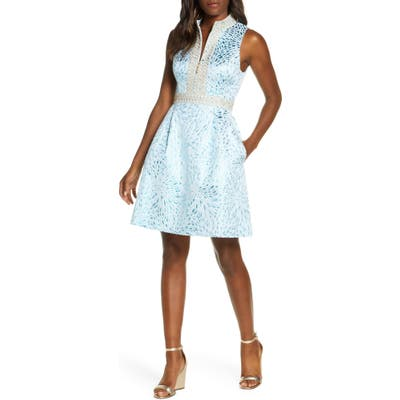 Lilly Pulitzer Franci Fit & Flare Dress, Blue