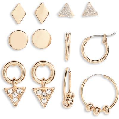 Bp. Set Of 6 Geometric Earrings