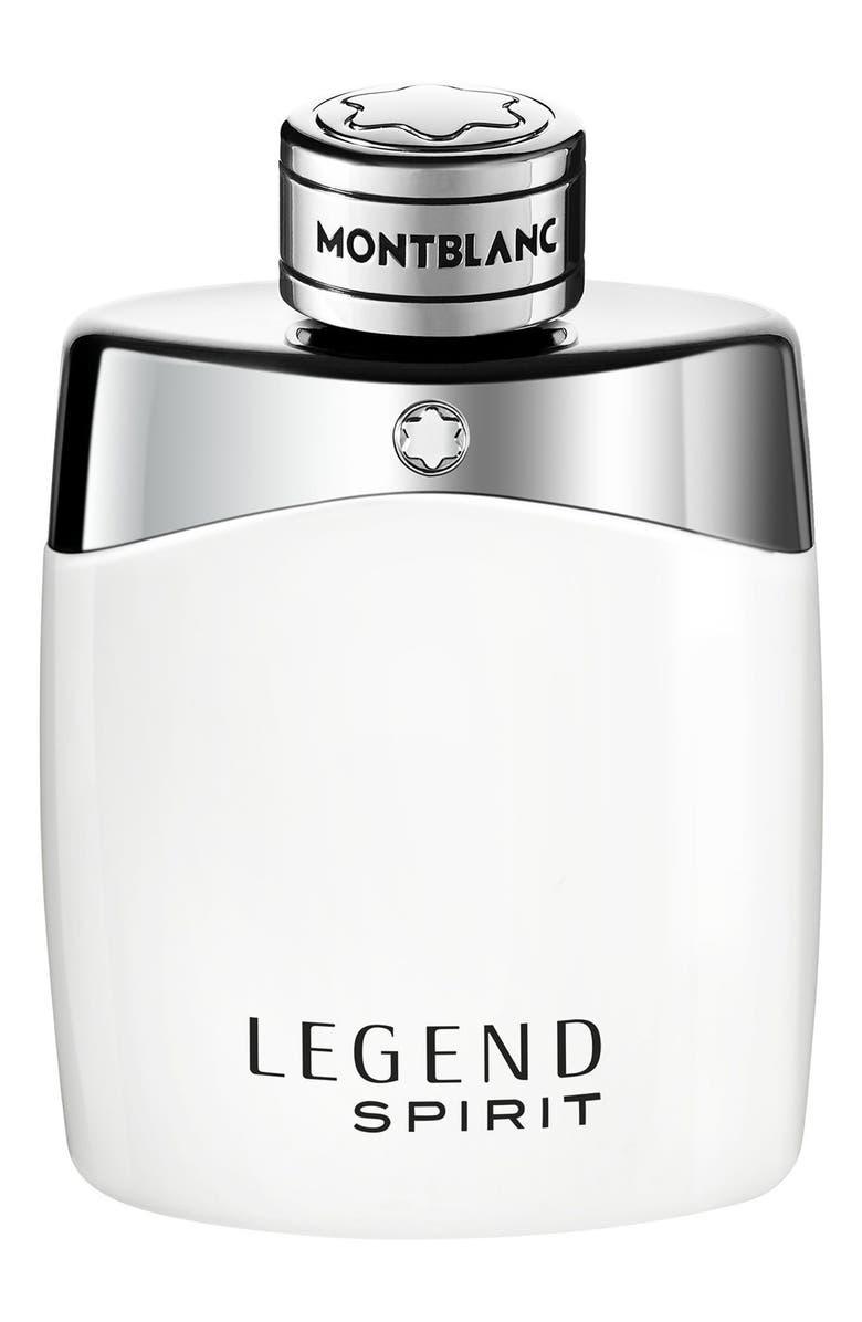 MONTBLANC Legend Spirit Eau de Toilette, Main, color, NO COLOR