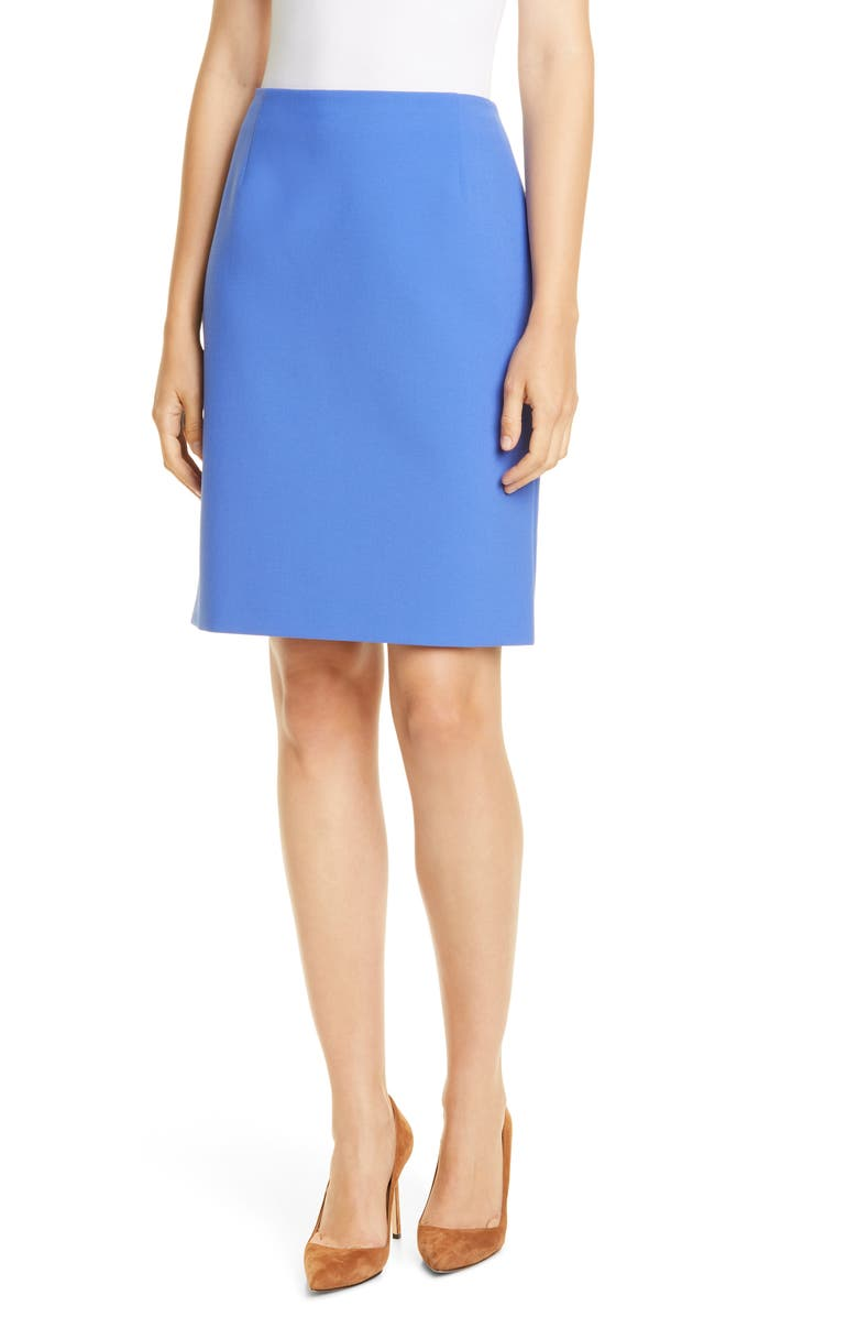 BOSS Vileana Ponte Pencil Skirt