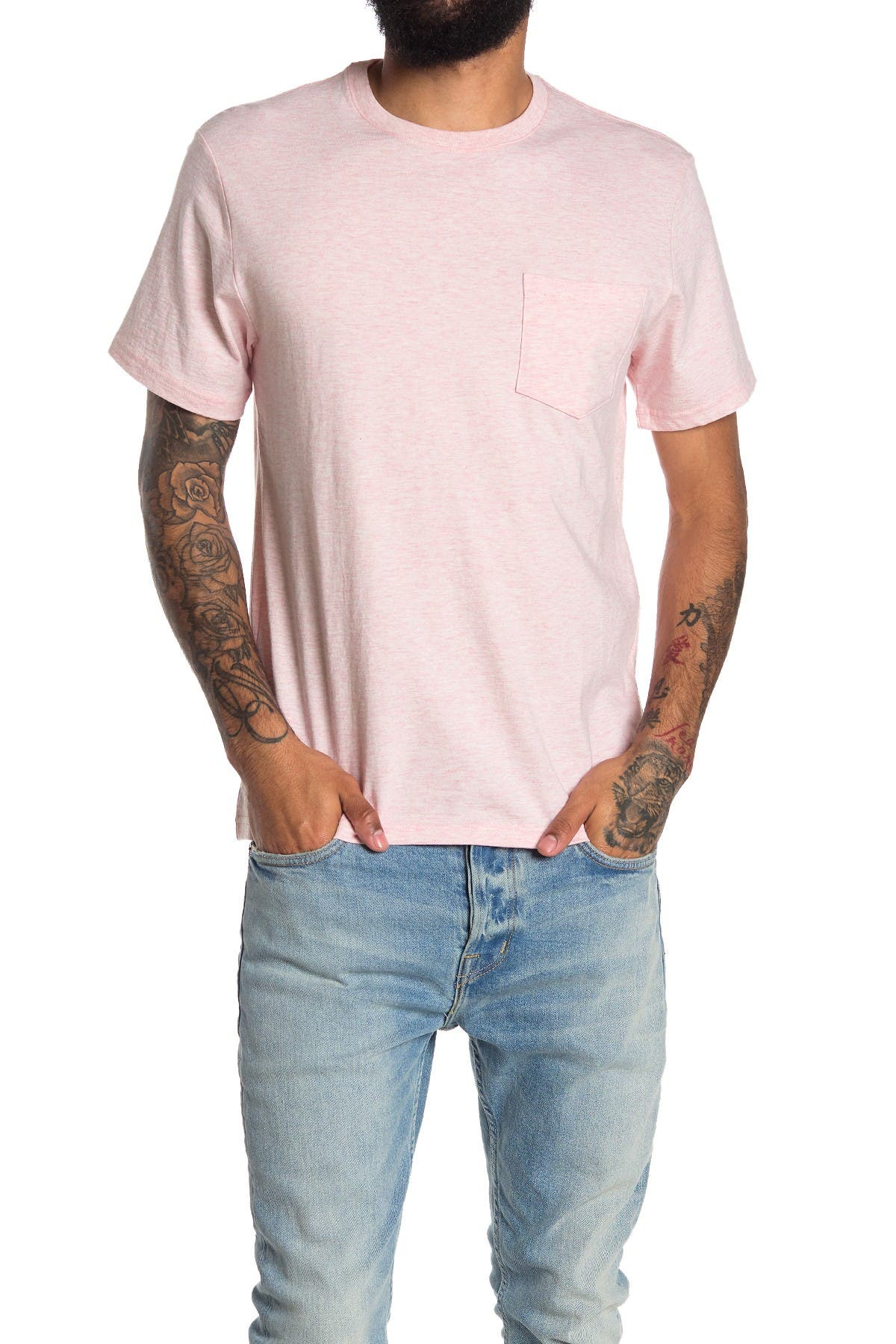 Image of Lucky Brand Sunset Pocket T-Shirt