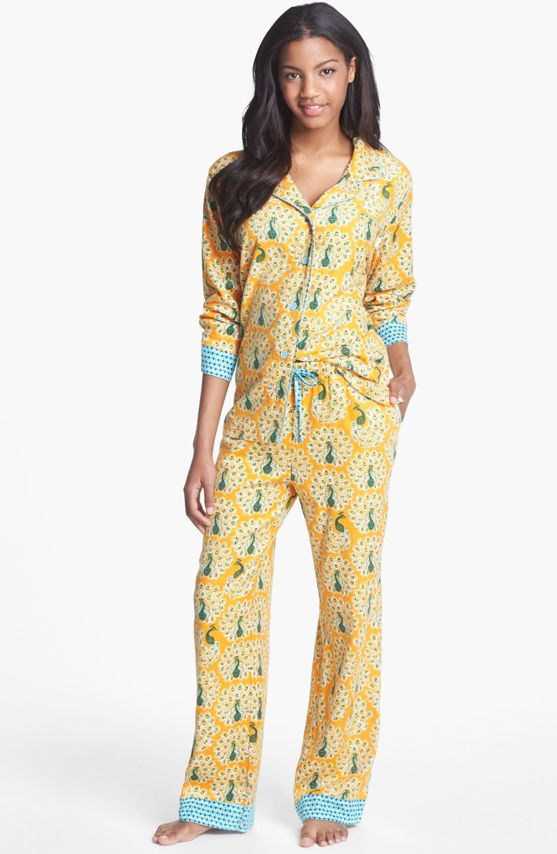 ,                             Flannel Pajamas,                             Main thumbnail 100, color,                             801