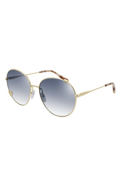 Chloé 61MM GRADIENT ROUND SUNGLASSES