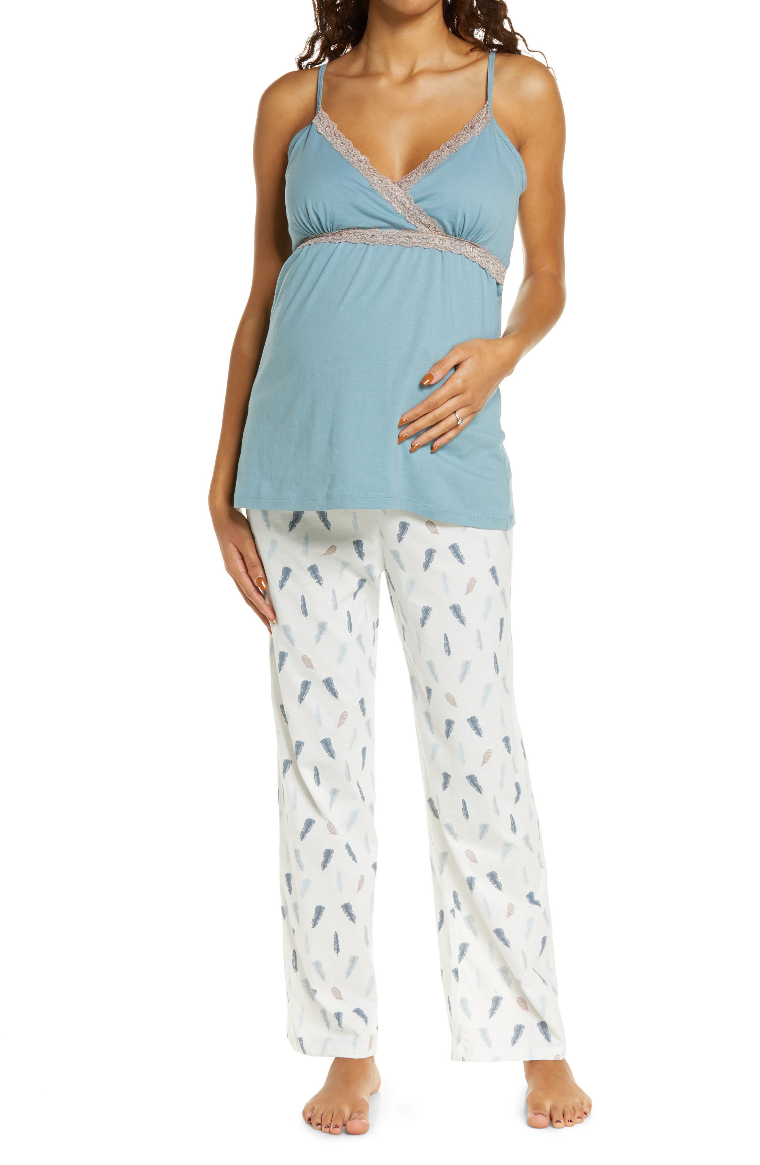 Plume Maternity/nursing Camisole Pajamas