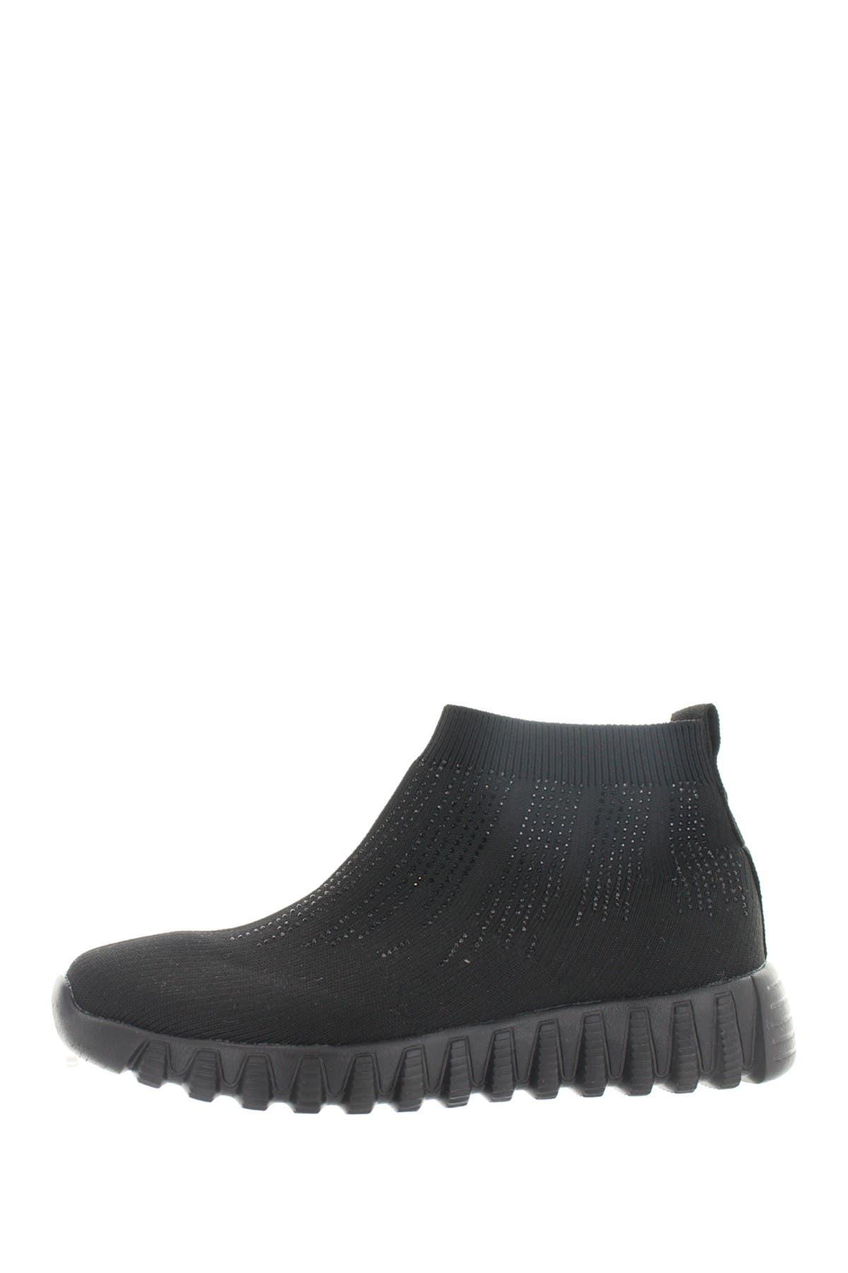 Bernie Mev   Leighton Knit Sneaker