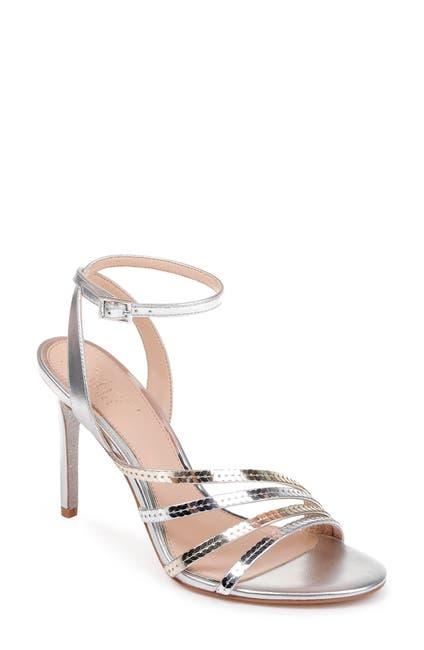 Image of Jewel Badgley Mischka Devonee Strappy Heeled Sandal