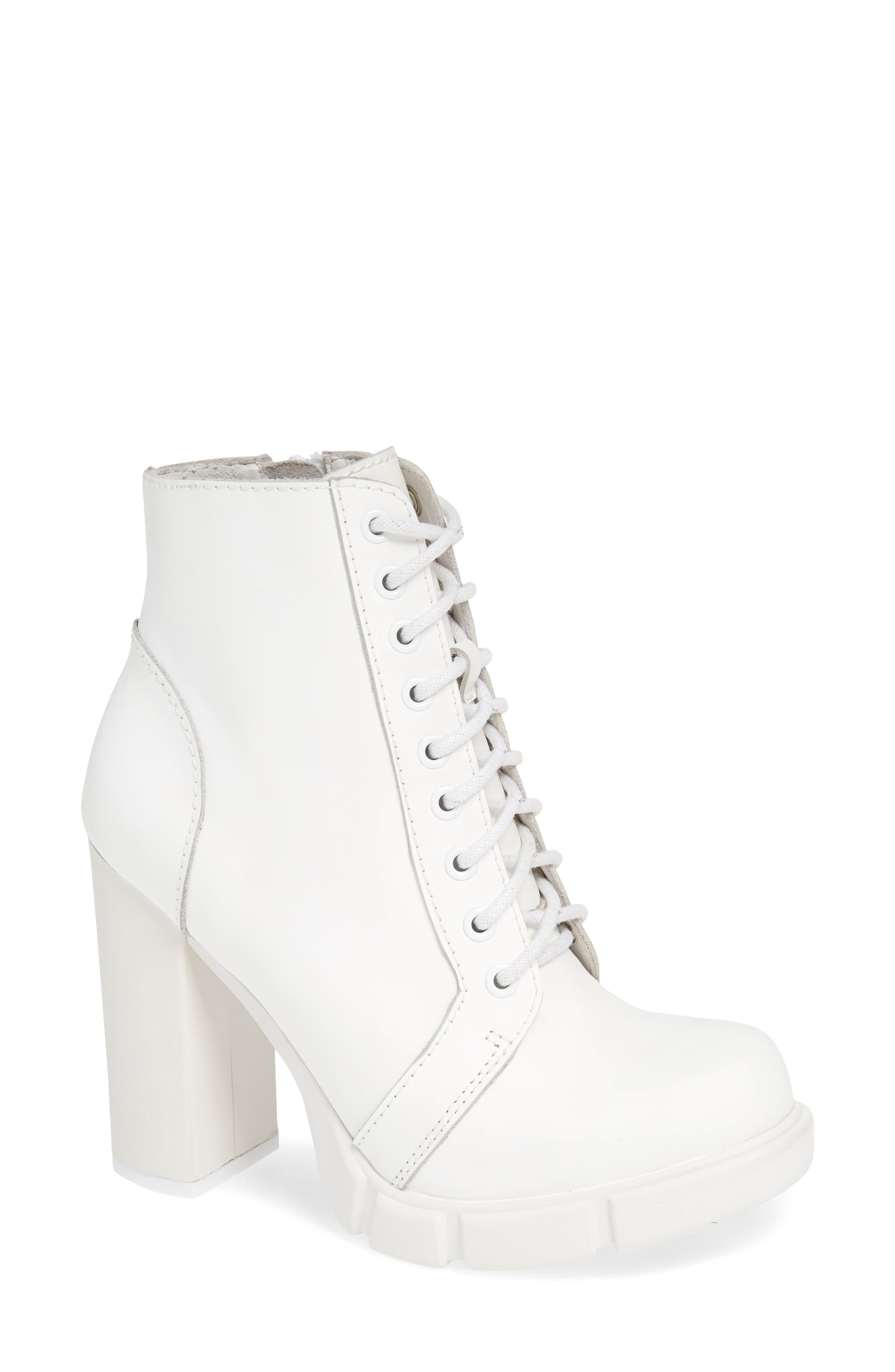 8b553be02 Jeffrey Campbell Solar Boot, White