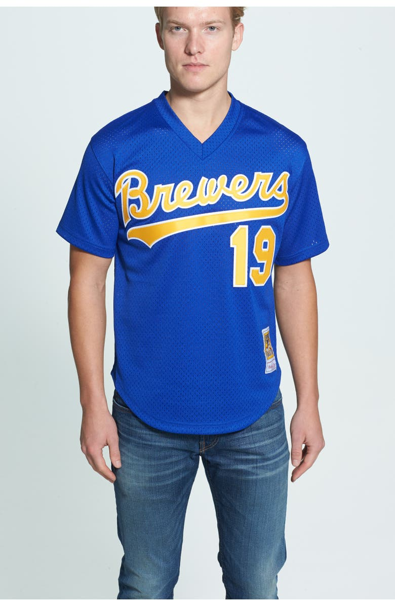 best sneakers 569cc 2efb0 Mitchell & Ness 'Robin Yount - Milwaukee Brewers' Authentic ...