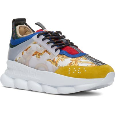 Versace Chain Reaction Sneaker, White