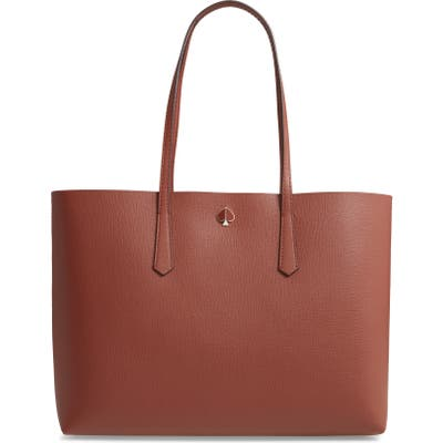 Kate Spade New York Large Molly Leather Tote - Brown