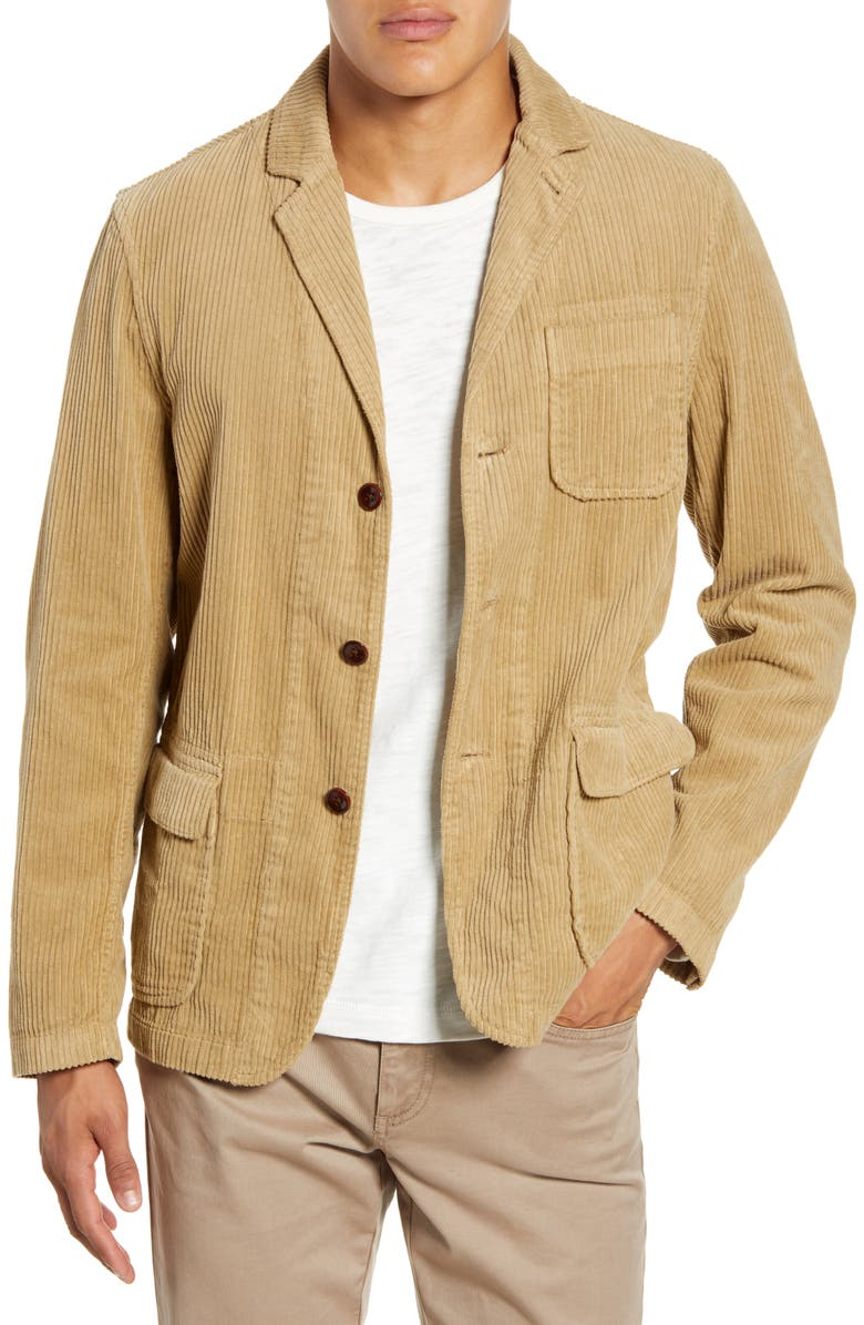 ALEX MILL Corduroy Sport Coat, Main, color, 280