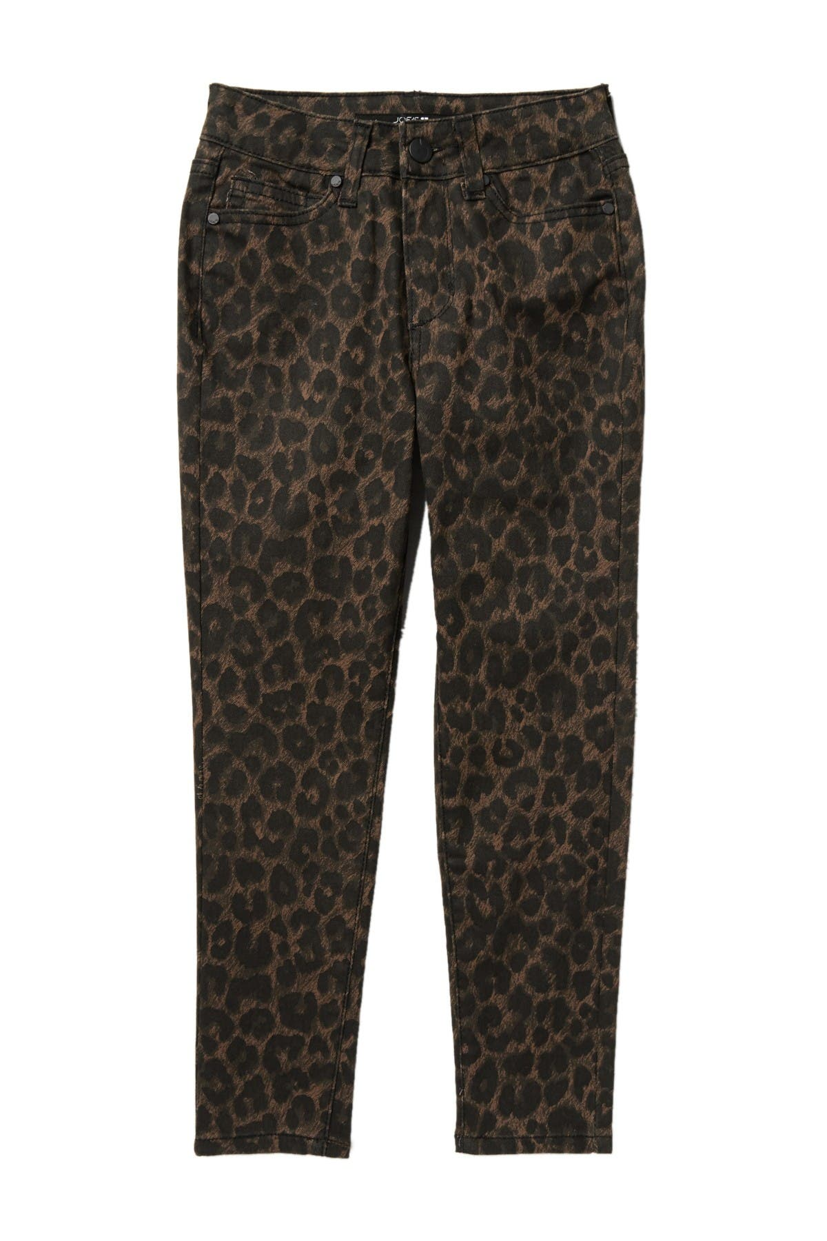 Joes Jeans Womens Charlie High Rise Skinny Ankle Leopard Jean