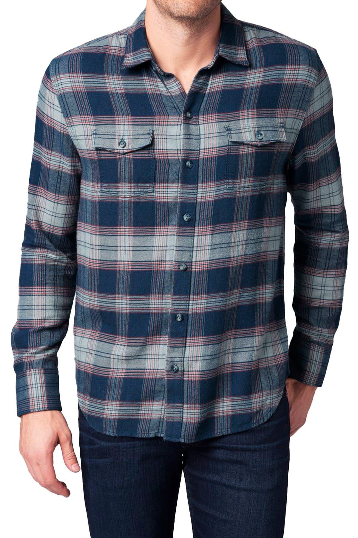 Image of PAIGE Everett Plaid Shirt