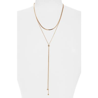 Bp. Layered Lariat Necklace