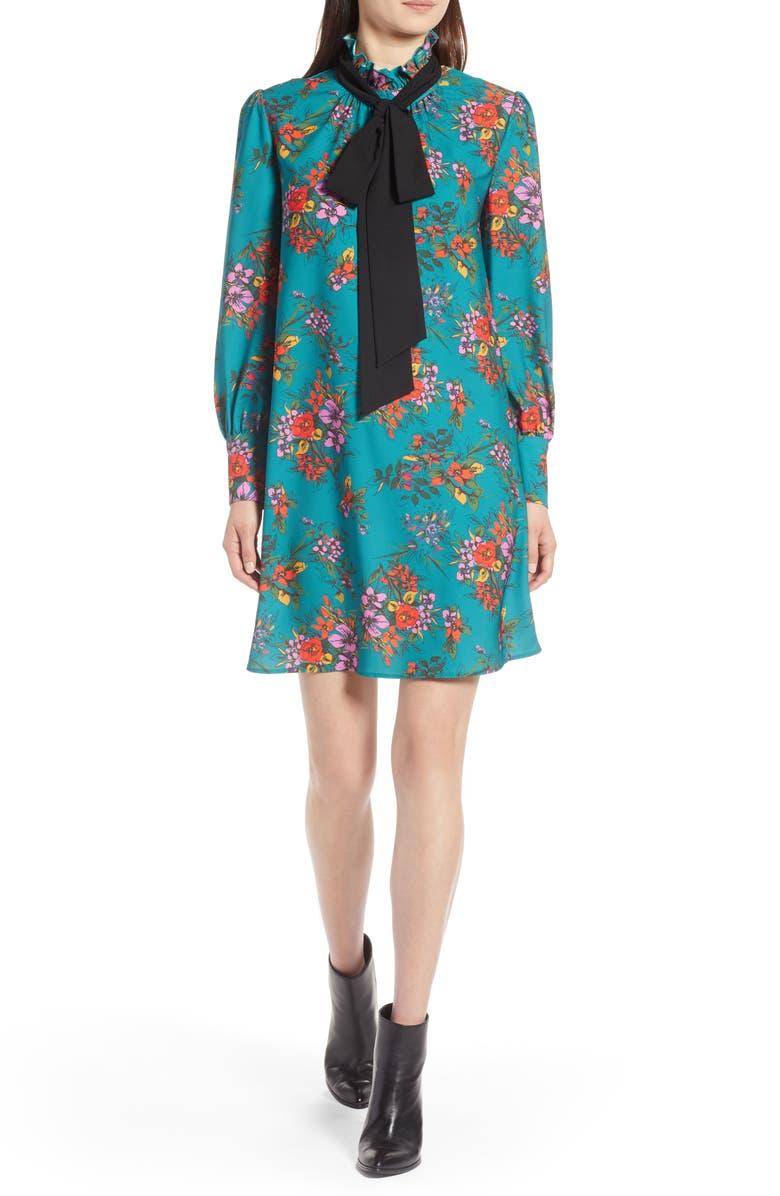 HALOGEN<SUP>®</SUP> Removable Bow Dress, Main, color, 310