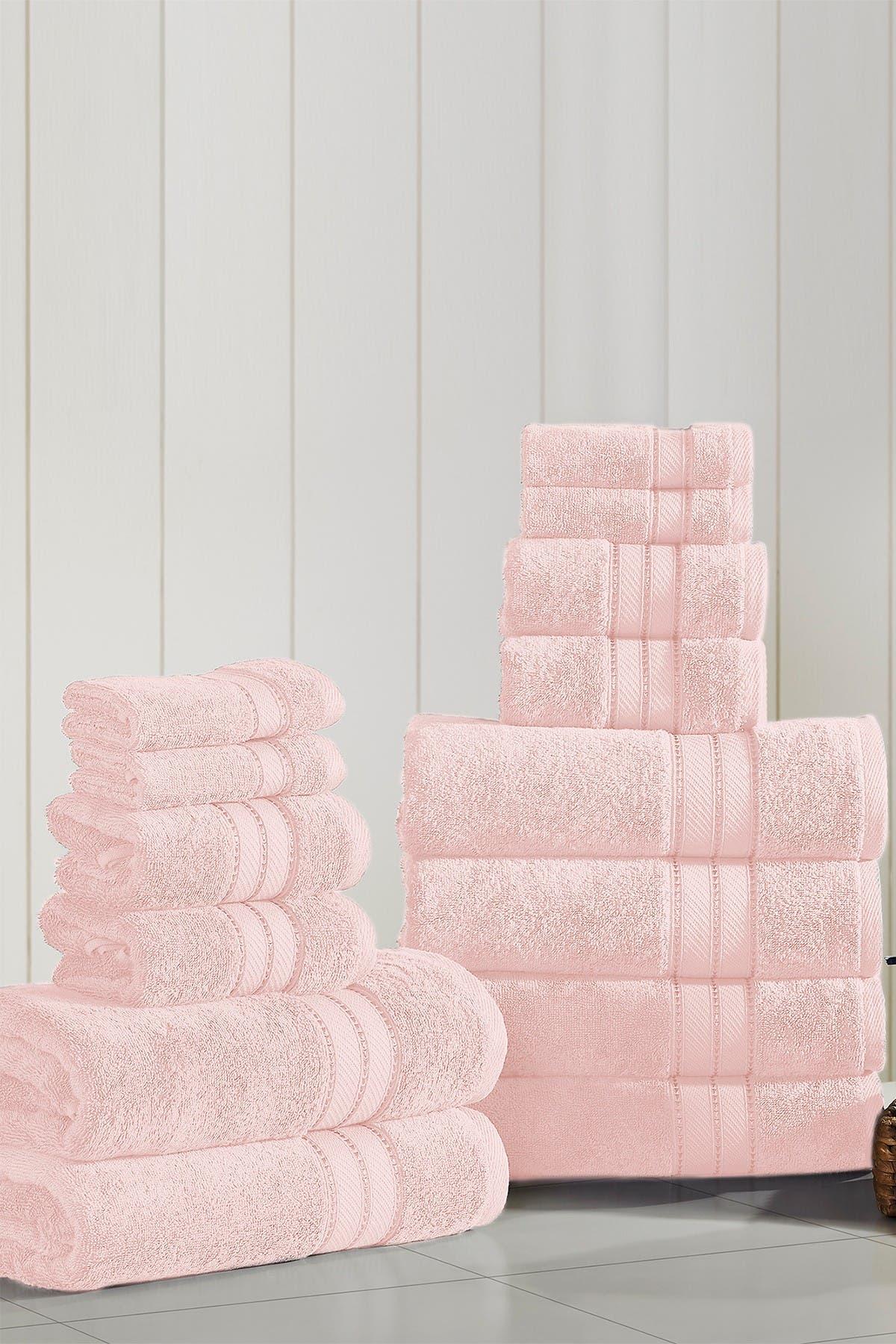 Image of Modern Threads SpunLoft 18-Piece Towel Set - Blush