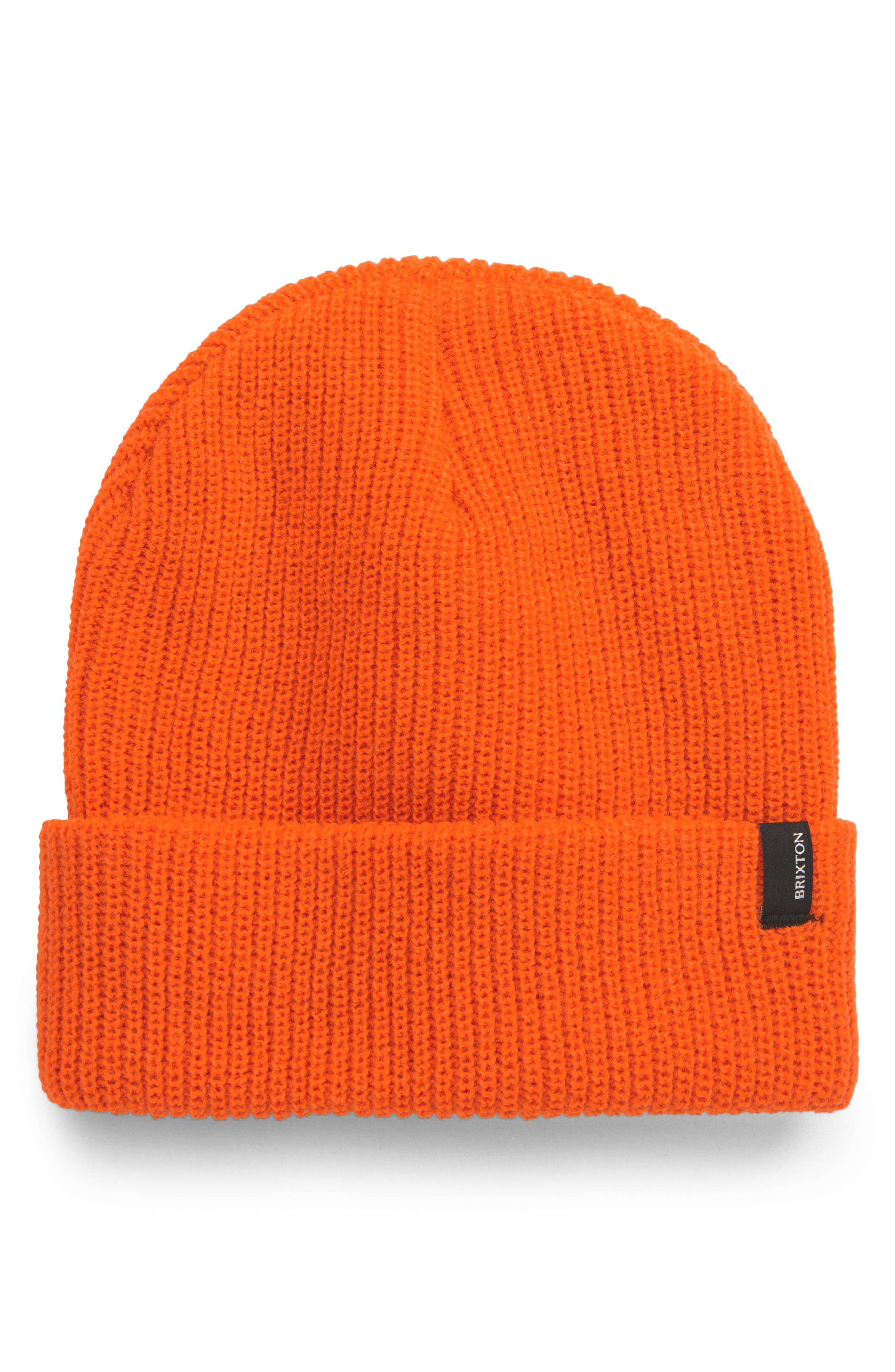 If you want to stay cozy-warm while doing most anything, this cuffed wool hat is right for the job. Style Name: Brixton Heist Beanie. Style Number: 6133480. Available in stores.