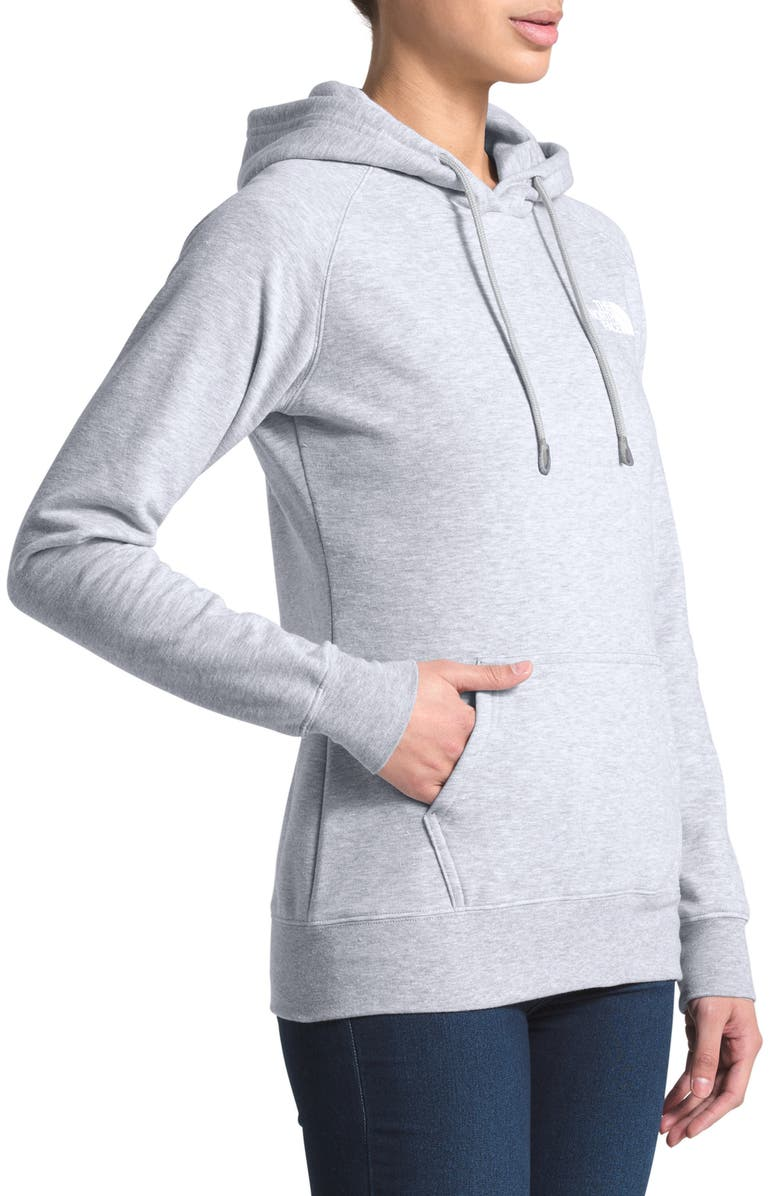 THE NORTH FACE Red Box Hoodie, Main, color, TNF LGT GREY HEATHER/ASPH GREY