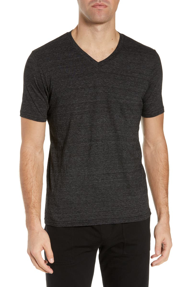 GOODLIFE Triblend Classic Slim Fit T-Shirt, Main, color, BLACK