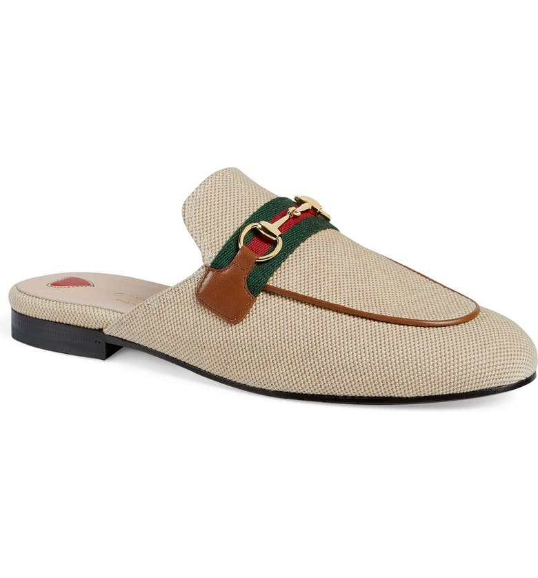 GUCCI Princetown Mule, Main, color, SAND