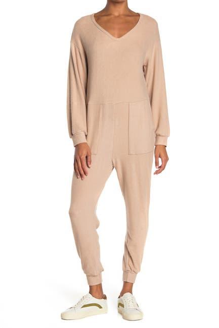 Image of Lush One-Piece Cozy Jumpsuit