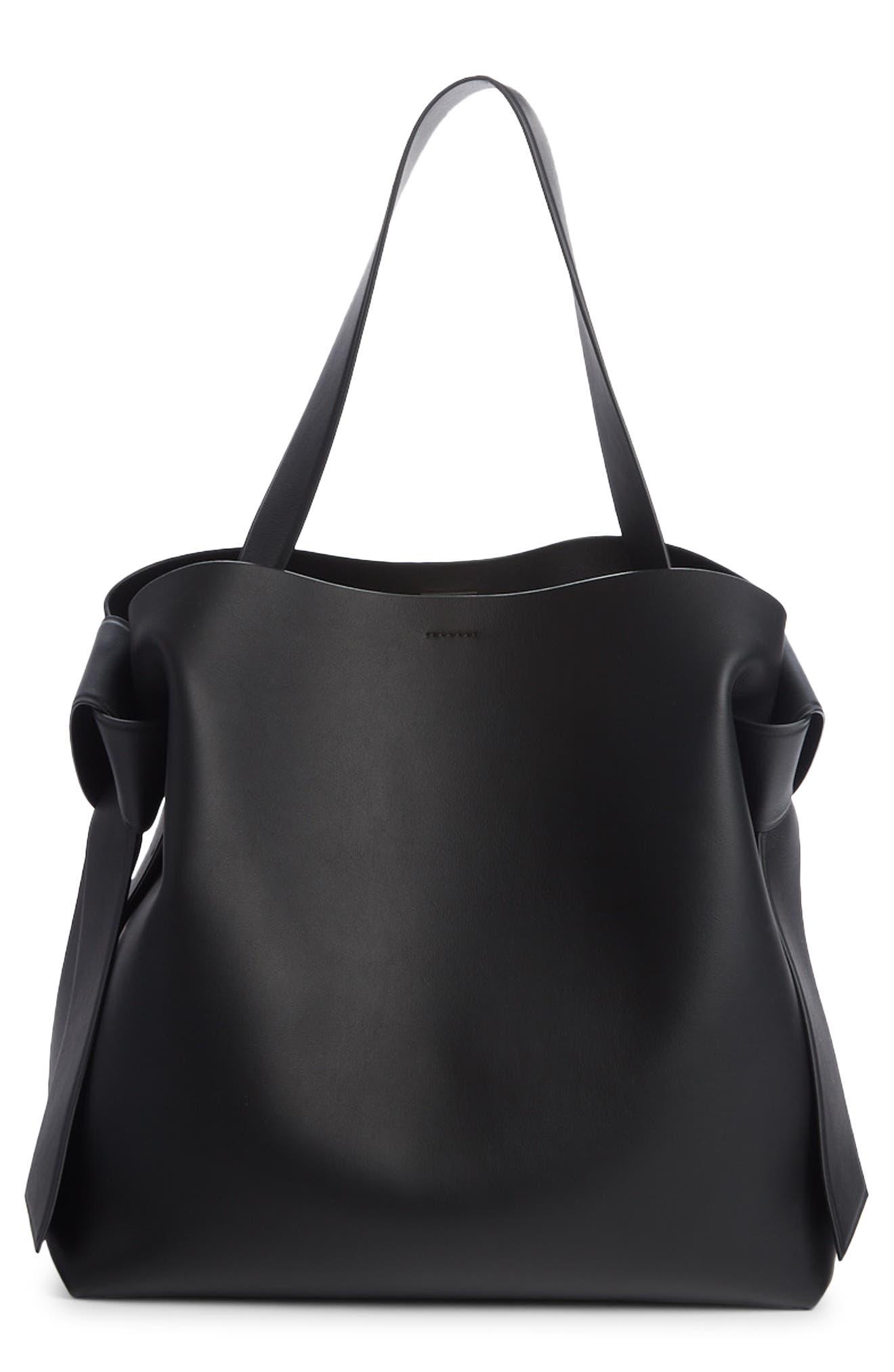 Acne Studios Musubi Leather Maxi Bag | Nordstrom