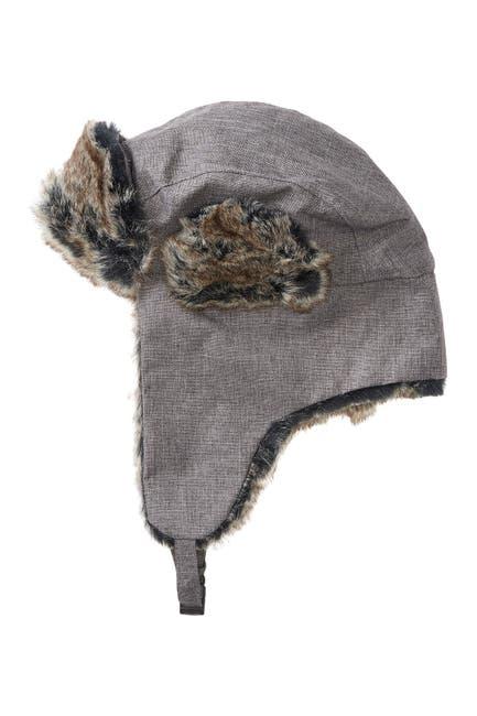 Image of SAN DIEGO HAT Faux Fur Trim Ear Flap Hat