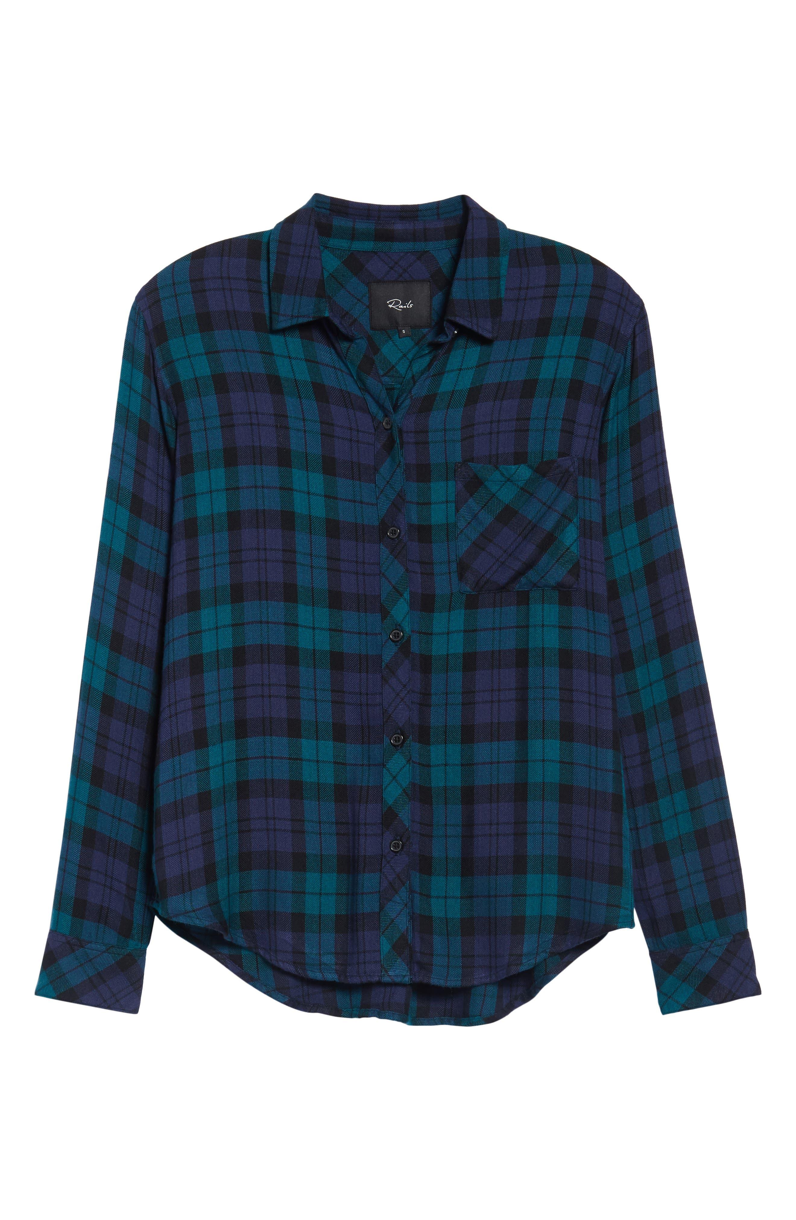 ,                             Hunter Plaid Shirt,                             Alternate thumbnail 845, color,                             443