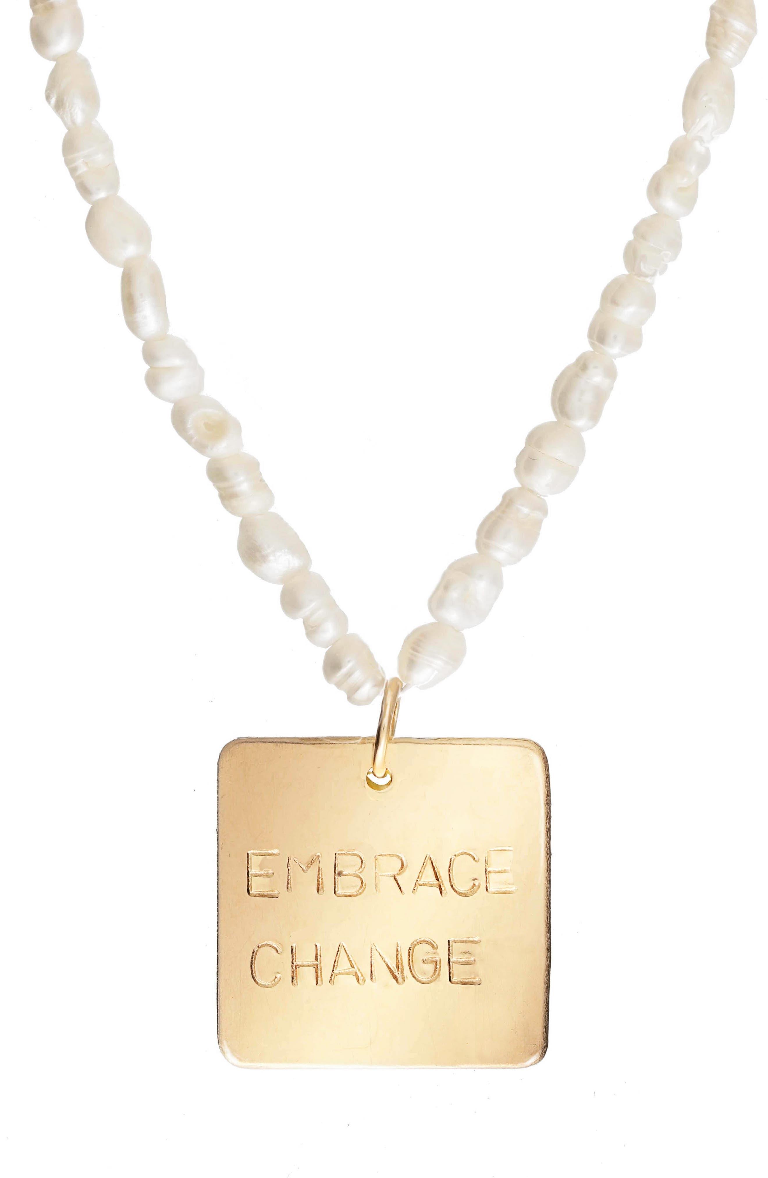 Embrace Change Necklace