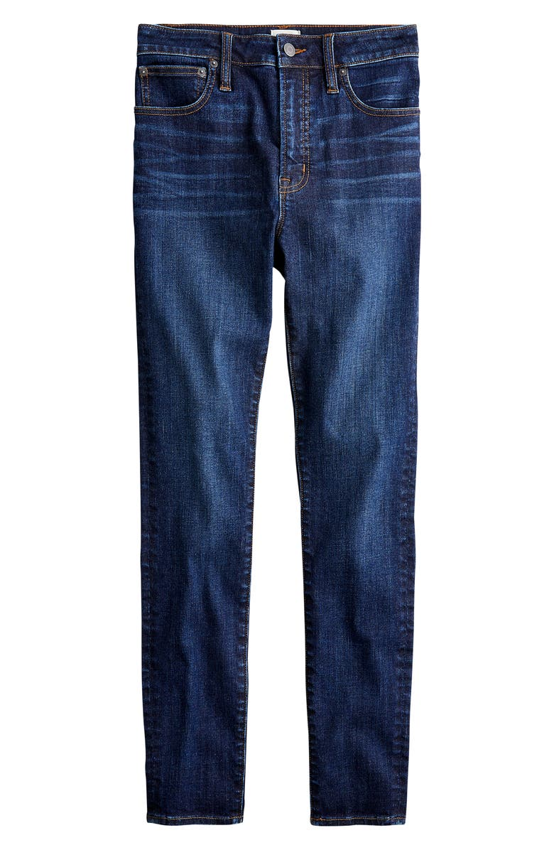 J.CREW Curvy Toothpick Jeans, Main, color, BLUE SHADOW