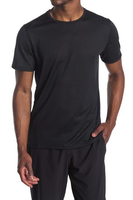 Image of Z By Zella Macrosite Mesh Crew Neck T-Shirt