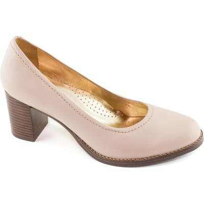 Marc Joseph New York Nyc Pump- Beige