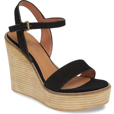 Alias Mae Kika Platform Wedge Sandal, Black