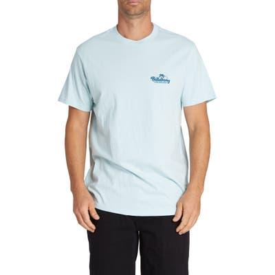Billabong Lounge Logo T-Shirt, Blue