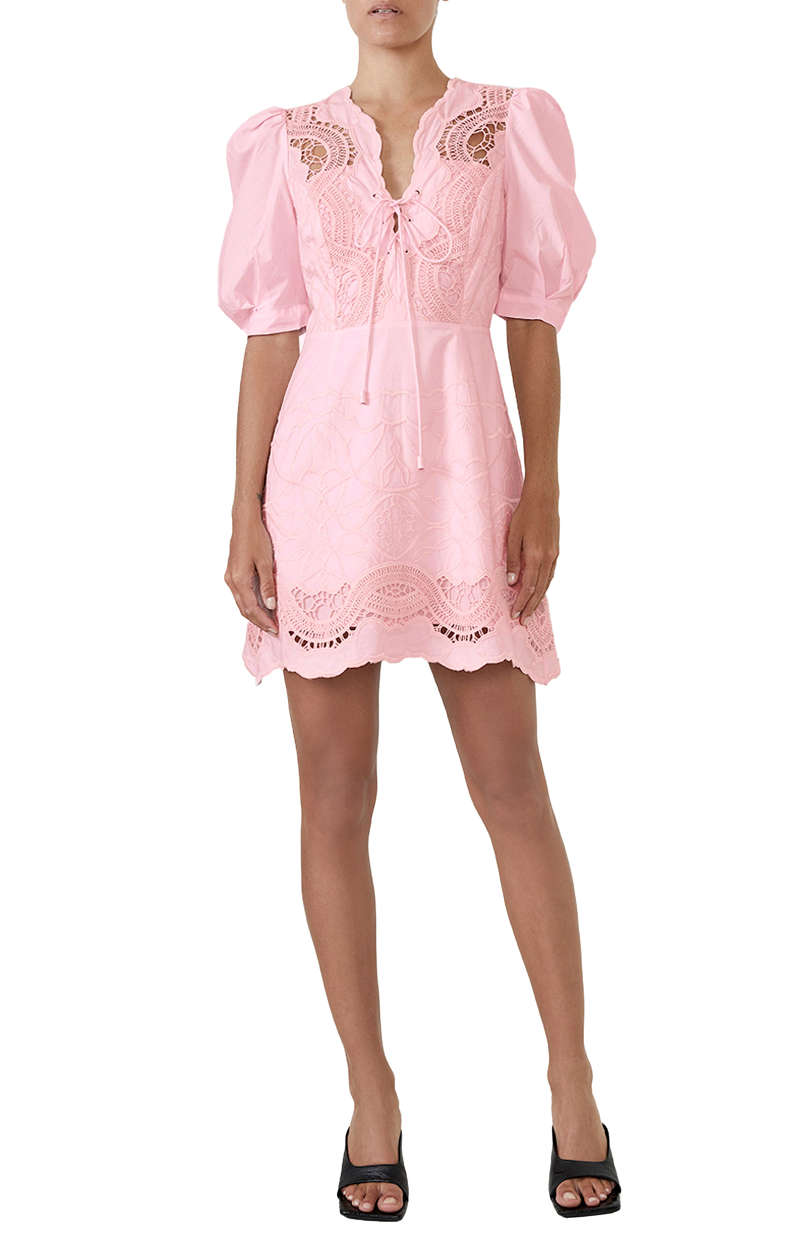 Lani Embroidered Cotton Dress