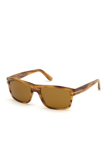 Image of Tom Ford August 58mm Sport Sunglasses